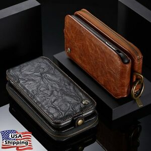 Magnetic-Leather-Removable-Flip-Wallet-Phone-Case-Cover-for-iPhone-X-6s-7-8-Plus