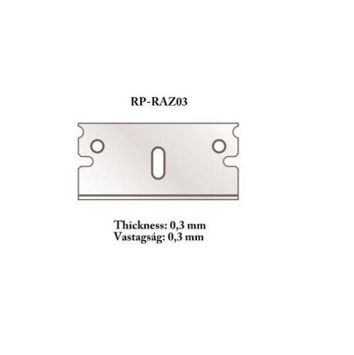#RP-CUTR for Mitre Cutter 5pcs RP Toolz Razor Blade 0.3mm