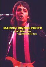 BEATLES - PAUL McCARTNEY - LINDA McCARTNEY & WINGS 1976 PHOTO 8x11 SALE RARE