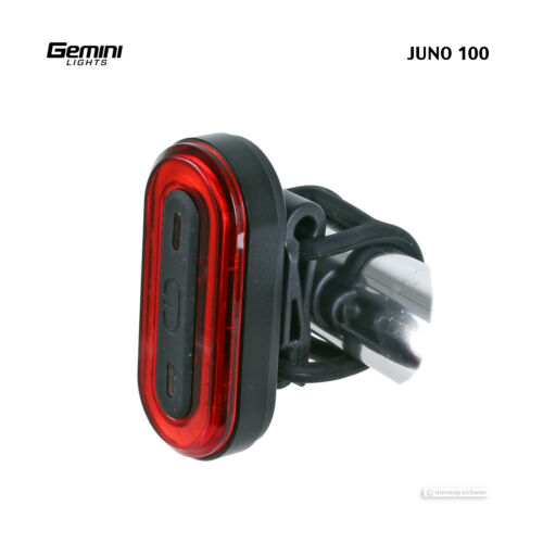 Gemini Lights JUNO 100 Lumen Road Commuter LED Bike Taillight