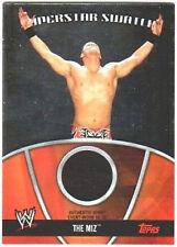 WWE The Miz 2010 Topps Superstar Swatch Memorabilia Relic Card FD