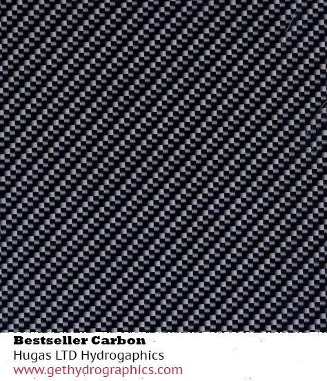 Hydrographics film carbon fibre BESTSELLER water transfer printing film HugasLTD