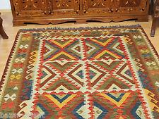 200x150 cm orient Teppich Afghan Turkmen Nomaden Planzenfarbe kelim kilim No:57