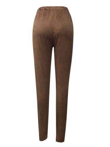 My Belle Juniors solid faux suede leggings