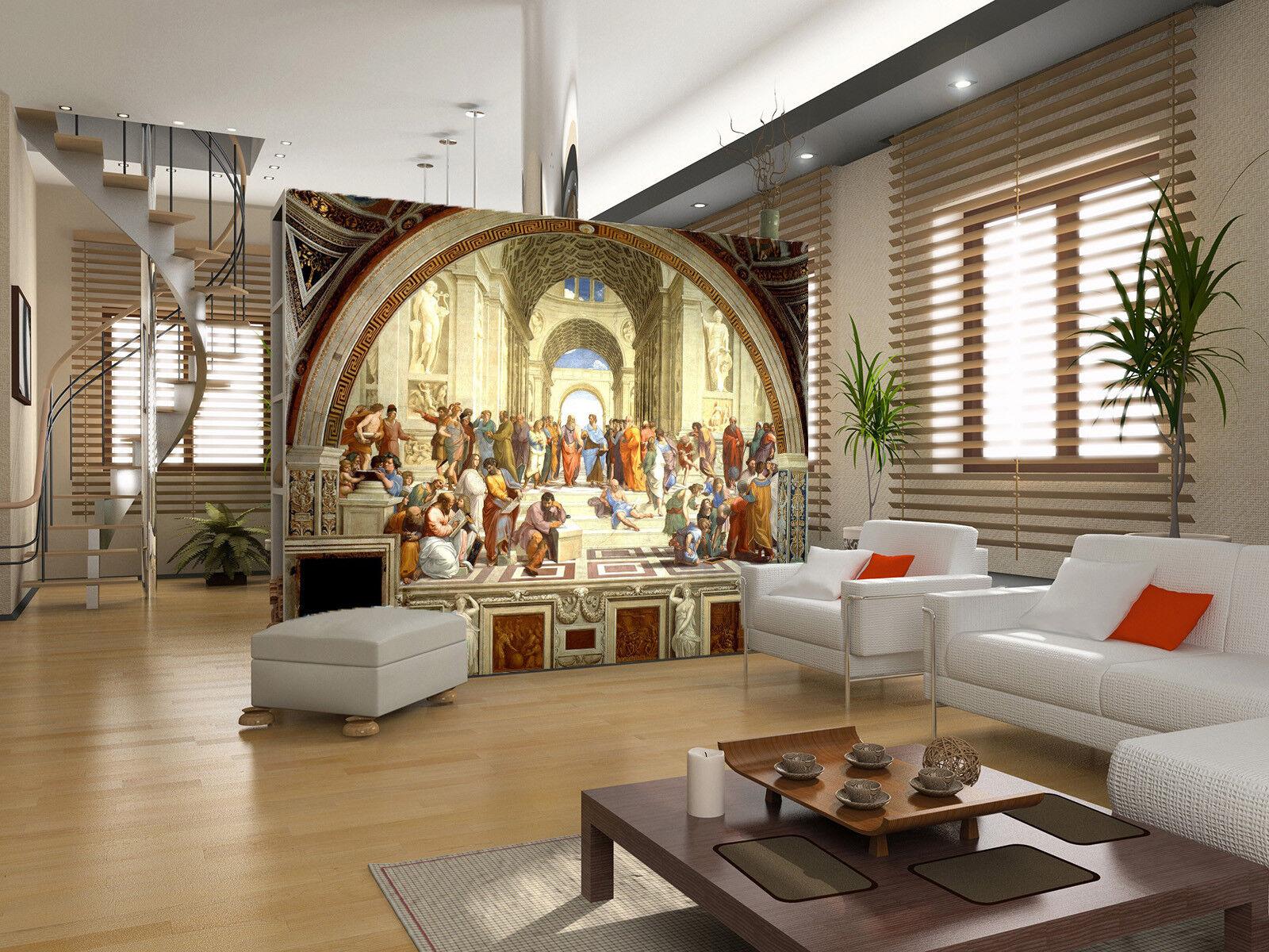 3D Kirchen Malerei 8958 Tapete Wandgemälde Tapeten Bild Familie DE Jenny