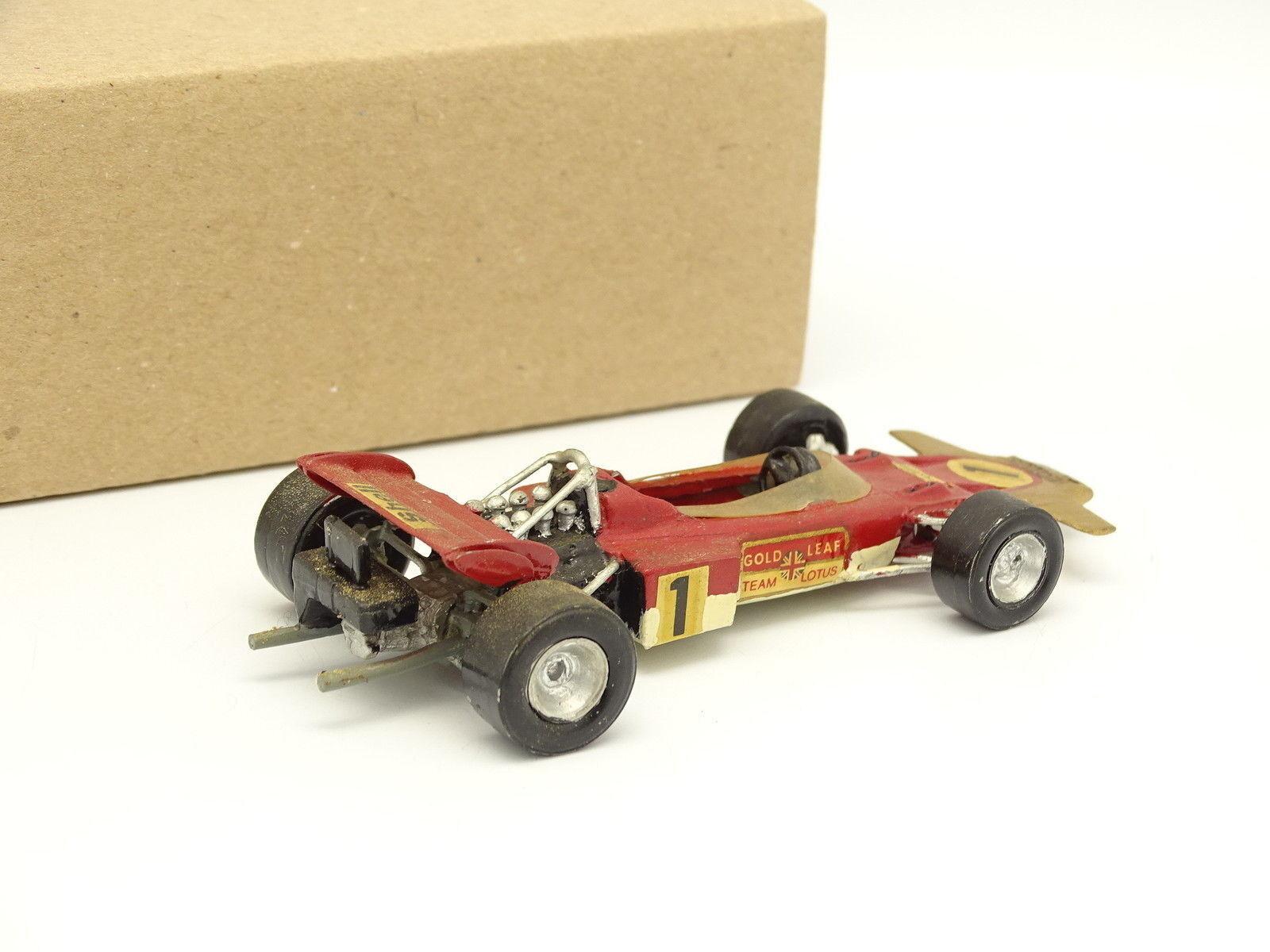 Kit Metal Montado 1 43 - F1 Lotus 49B 49B 49B Ford oro Leaf N°1 Hill 0791a9