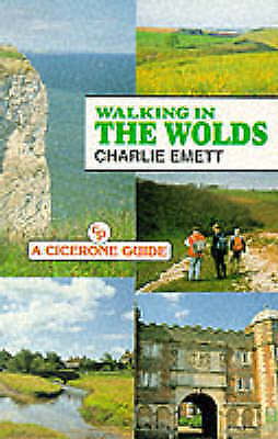 Walking in the Wolds (A Cicerone guide), Emett, Charlie, Very Good Book