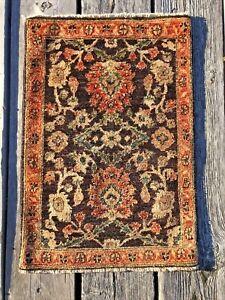 Vintage Kazak Oriental Rug Hand Knotted Carpet Wool Pakistan Tribal Peshawar 2x3