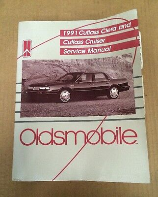 1991 Oldsmobile Custom Cruiser Factory Service Manual.