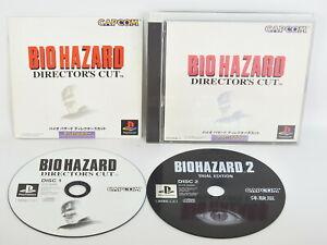 BIOHAZARD-DIRECTORS-CUT-Resodent-Evil-Ref-ccc-PS1-Playstation-Japan-p1
