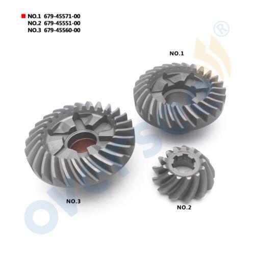 For YAMAHA Outboard Motor 40 HP Gear Pinion Set 679-45560 679-45571 679-45551