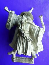 Wizard with staff metal tom meier 54mm thunderbolt mountain giant magic-user