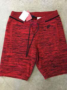 Nike-Men-039-s-Tech-Knit-Shorts-Red-Heather-728675-671-S-L-techknit-fly-supreme