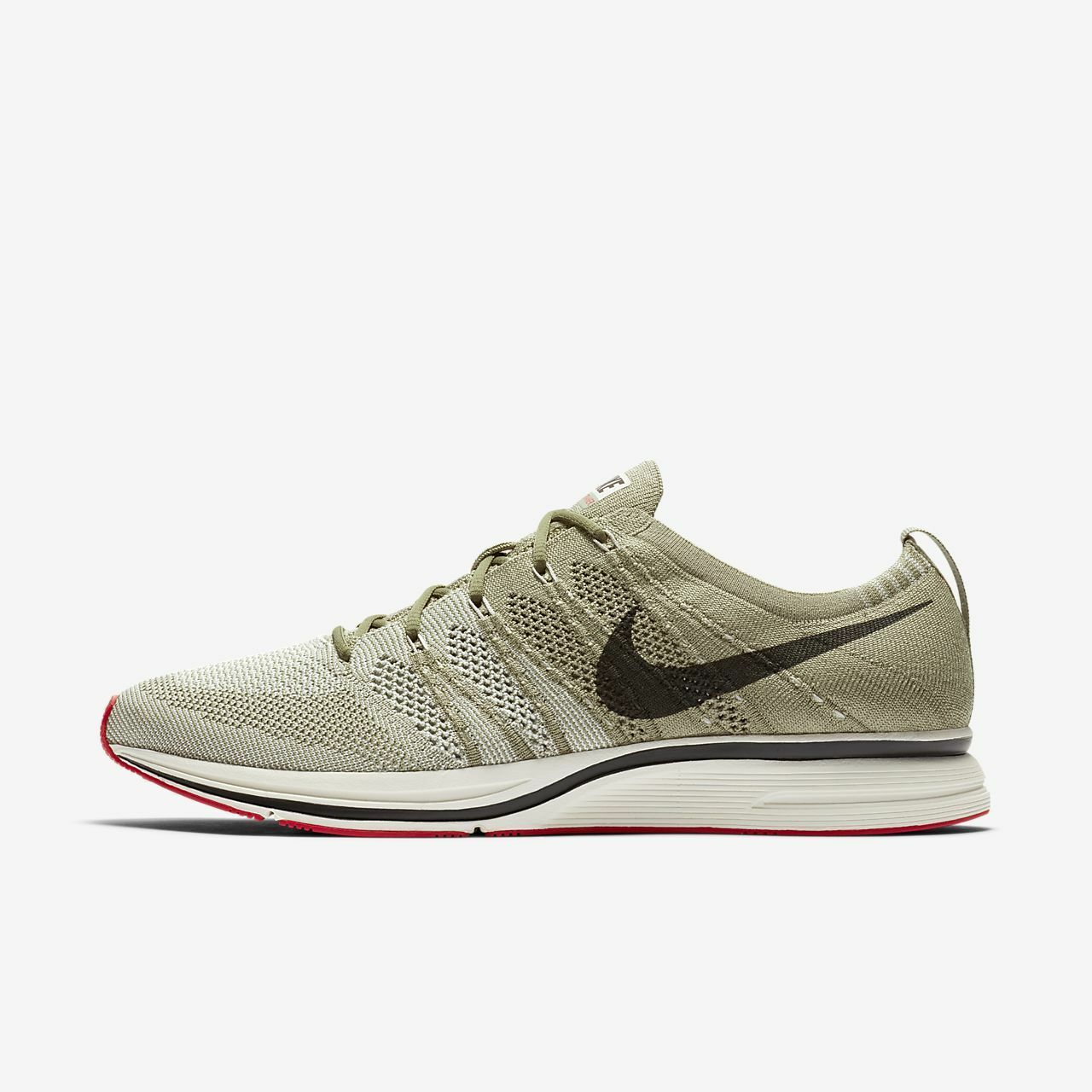 Nike uomini flyknit trainer riflettente correndo brown grey ah8396-201 us7-11 04