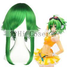 VOCALOID2 Megpoid Gumi Cosplay Hair Green 55cm Wig + Free Wig Cap Free Shipping