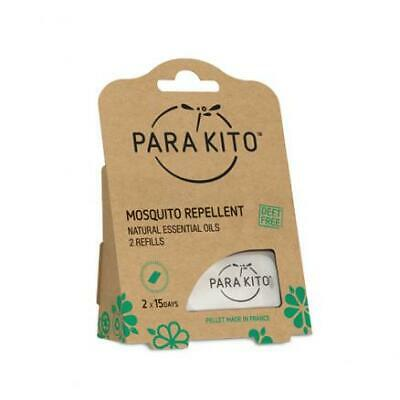 NEW SEALED Para/'Kito Natural Mosquito Repellent Refill 2 Refills DEET-Free