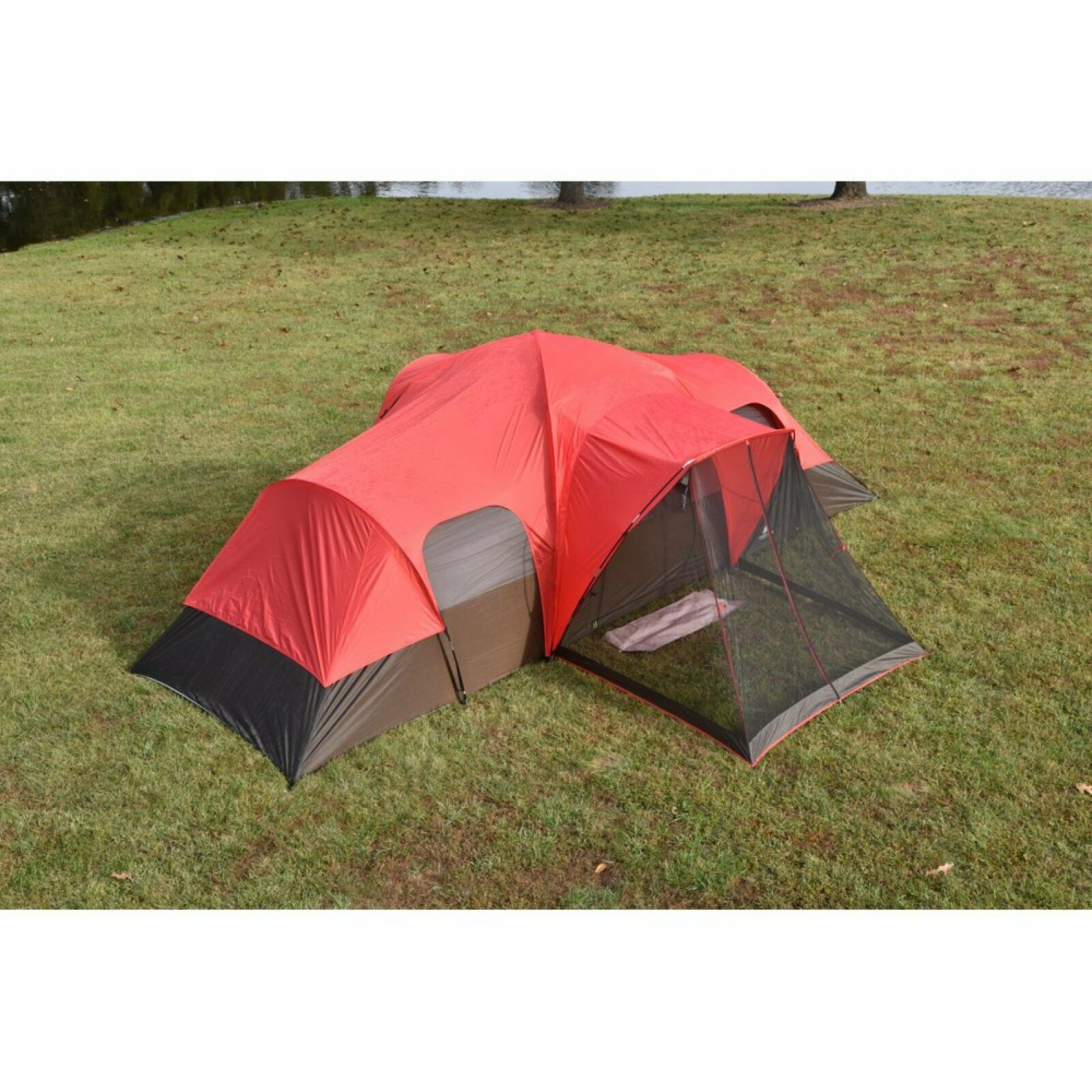 Family Camping Tent 10Person Sport Outdoor Hiking Fathers Day Large Waterproof