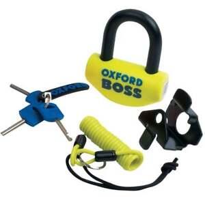 Oxford-Big-Boss-Motor-Bike-Motorcycle-Sold-Secure-Disc-lock-16mm-shackle