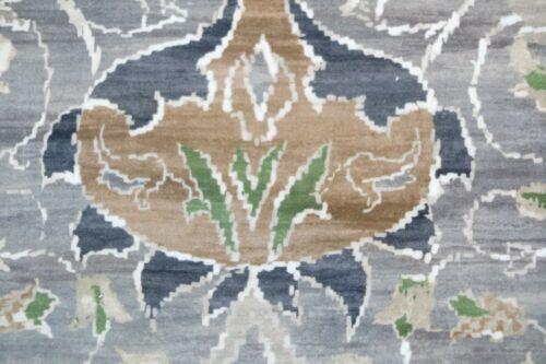 WILLIAM MORRIS CURTAIN FABRIC  Montreal 3.5 METRES GREY//CHARCOAL VELVET