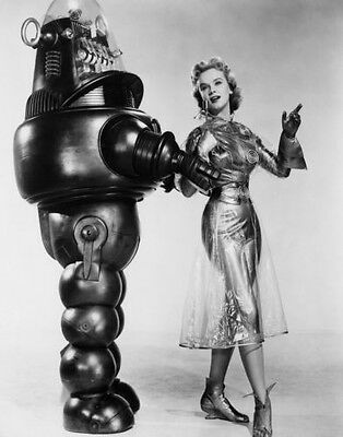 """Anne Francis Robby the Robot Forbidden Planet Photo Print 14 x 11/"""""""