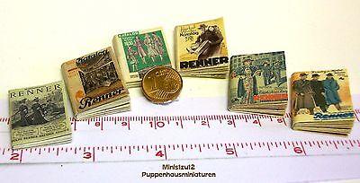 Puppenhaus Puppenstube M 1zu12 1402# Versandhauskataloge von  1901 bis 1941
