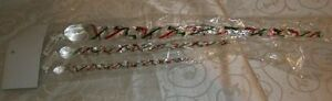 Set-of-3-Department-56-Christmas-Glass-Icicles-17-1-2-034-12-034-8-1-4-034-L-New