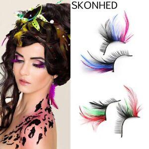 7b1861cbffa HOT!Women Fancy Soft Long Feather False Eyelashes Eye Lashes ...