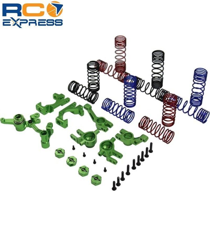 X Spede verde Suspension Tuning Hop up Set Slash Stampede Rally 4wd XPSL929P05
