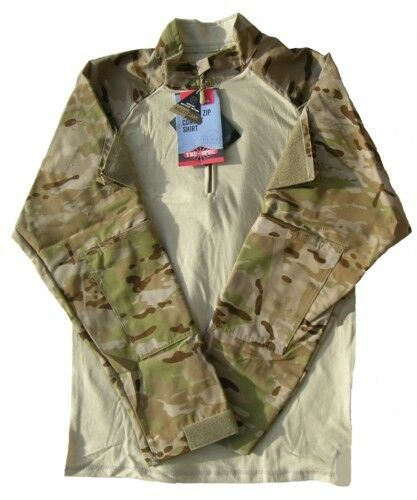 Tru-Spec Multicam Arid  1 4 Zip TRU Combat Shirt 50 50 NYCO RS  quick answers
