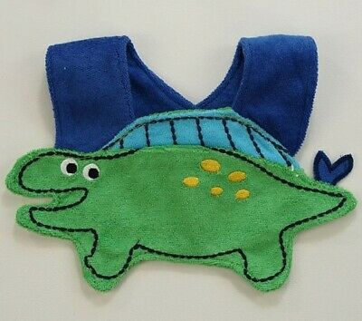 NEW Carter/'s Blue Monkey Baby Boys Terry Cloth Teething Drool Bib
