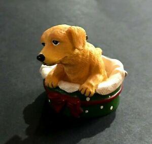 AGC-Dog-Lover-Christmas-Ornament-Golden-Retriever-Collectible-Adorable-2009-CUTE
