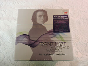 Franz-Liszt-Master-amp-Magician-The-Masterworks-Collection-25-CD-Set-w-DVD