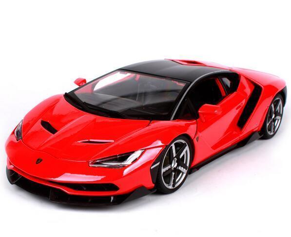 Maisto 1 18 Lamborghini LP770-4 Centenario Diecast Model Racing Car Vehicle Red