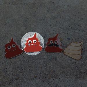 Details about POO LAPEL PINS - happy poo emoji poop turd kawaii cute funny  fart unko japan