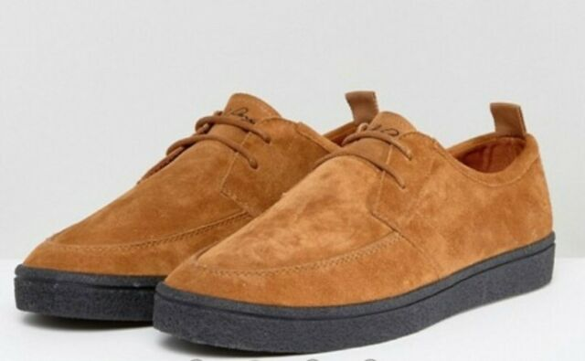 Fred Perry Shields Suede Crepe Mens