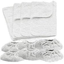 10 X Karcher limpiador de vapor herramientas de mano de tela de toalla y cubre Funda Lavable almohadillas