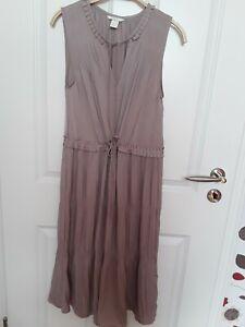 Kleid Gr 36 Taupe Farbe Neu Schick Ebay