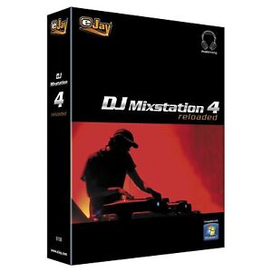 🥇 ejay dj mixstation 4 reloaded. Original licence. Pc software.