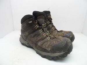 4ad697e4db9 DAKOTA Men's Mid-Cut Quad Comfort Aluminium Toe CP Work Boots Brown ...