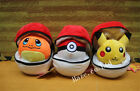 Cute Pokemon Go Poke Ball Xmas Gift Anime Doll Plush Toy Xmas Gift 6""
