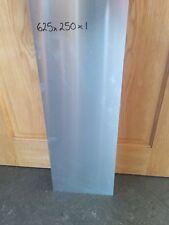 625mm X 250mm X 1mm hoja de aluminio placa