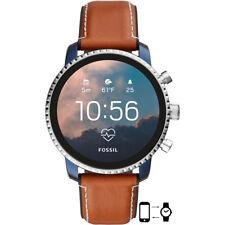 Fossil FTW4016 Gen 4 Smartwatch Q eXplorist HR Tan Leather 45m