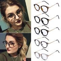 Vintage Clear Lens Eyeglasses Frame HOT Retro Round Men Women Glasses Fashion XN