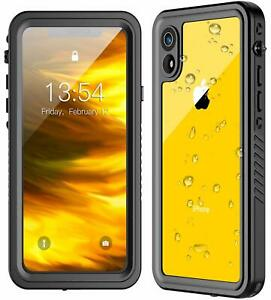 For iPhone XR / XS MAX Case Cover Waterproof Shockproof with Screen Protector