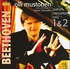 Beethoven: Piano Concertos Nos. 1 & 2 [Hybrid SACD] Super Audio CD (CD, Jul-2007, Ondine)