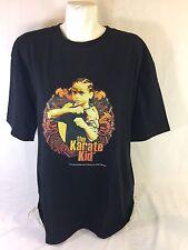 Zync Men Black Shirt Karate Kid Logo Size XL  Short Sleeve Bin59#3
