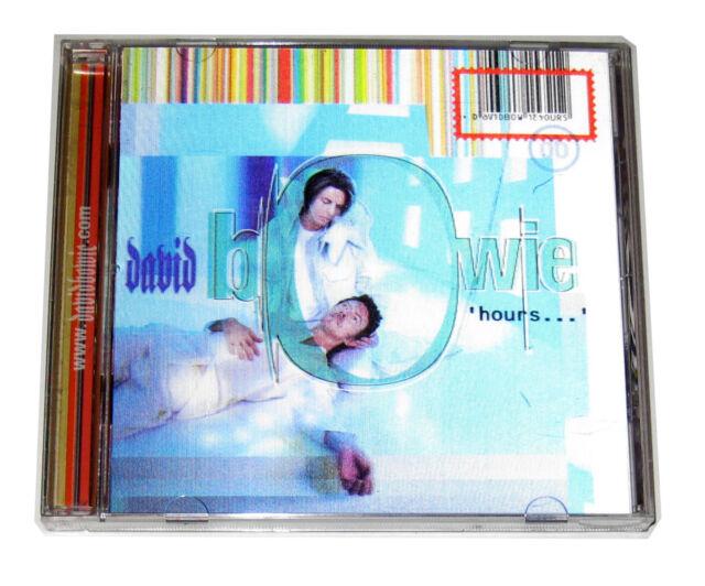 CD: David Bowie - Hours (1999, Virgin) Enhanced Lenticular Seven Thursdays Child
