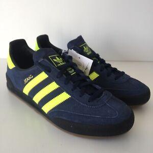 Adidas Jeans Blue Yellow Size 4.5 Boys