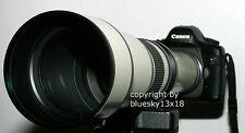 Telezoom 650-1300mm F. Sony Alpha 230 330 380 450 500 550 580 580 y 77 77-ii 58