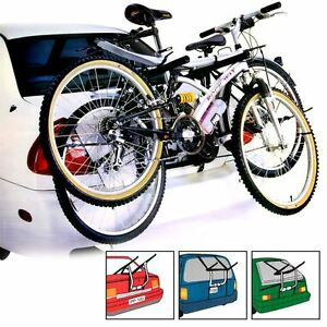 UNIVERSAL 2 BICYCLE REAR MOUNT CARRIER CAR RACK BIKE CYCLE - NEW